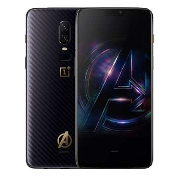 OnePlus 6 The Avengers Version AMOLED Android 8.1 8GB RAM 256GB ROM Snapdragon 845 4G Smartphone