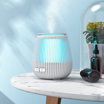 BlitzWolf® BW-FUN11 100ml Mini Aroma Oil Diffuser Air Humidifier Purifier RGB Light Ultrasonic Atomization 2 Mist Modes Mist Maker