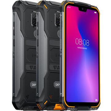 DOOGEE S68 Pro Global Version 5.84 inch FHD+ IP68 Waterdrop 6300mAh NFC 21MP Triple Rear Cameras 6GB RAM 128GB ROM Helio P70 Octa Core 2.0GHz 4G Smartphone
