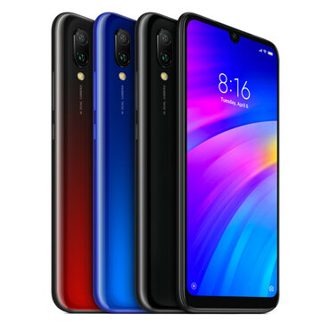 £122.41 Xiaomi Redmi 7 6.26 inch Dual Rear Camera 3GB RAM 32GB ROM Snapdragon 632 Octa core 4G Smartphone Smartphones from Mobile Phones & Accessories on banggood.com
