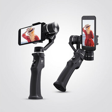 Funsnap Capture 1 3-Axis Handheld Gimbal Stabilizer Vlog Live Youtube Monopod For Gopro Sjcam Xiaomi 4k Action Camera Gimbals Stabilizer