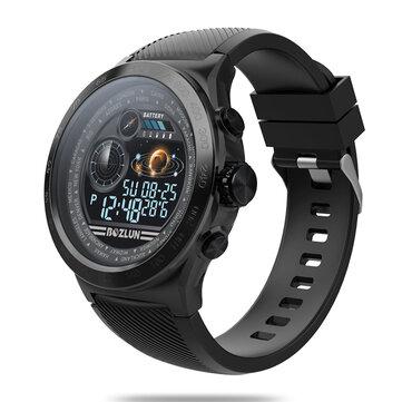 Bakeey W31 IPS Stainless Steel Bezel GPS Heart Rate Sleep Monitor 8 Sports Mode Super Large Battery Fitness Tracker Smart Watch