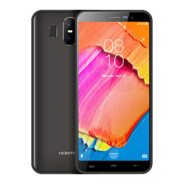 HOMTOM S17 5.5 Inch Android 8.1 3000mAh 2GB RAM 16GB ROM MT6580 Quad Core 1.3GHZ 3G Smartphone