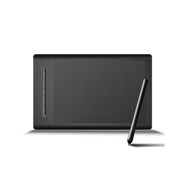 LetSketch 9628 Graphic Tablet 8192 Pressure Sensing 230 Point/Sec 5080 Resolution Reading Rechargable bluetooth Wired Compatible with Phone/PC/Laptop/Tablet