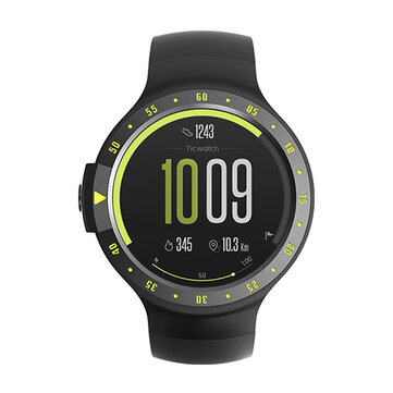 TicwatchS Sports Heart Rate bluetooth Music GPS WIFI Smart Watch