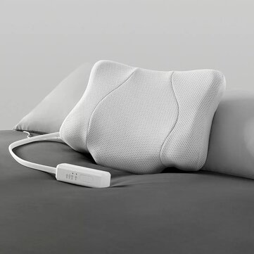 lejia multifunction smart sleep traction pillow from technology hot compress lift massage electric adjustable for neck back shoulder care
