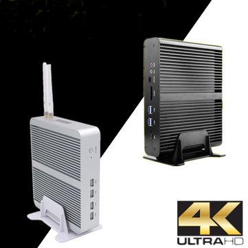 Eglobal Mini Pc Computer i5-7260U 8GB+128GB 8GB+256GB Win10 Dual Core Intel Graphics 640 2*DDR4 Msata+M.2 SSD Micro PC Fanless HTPC Nuc VGA HDMI