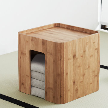 CHENGSHE Simple Bay Window Small Japanese Tatami Coffee Wooden Table with Cushions from xiaomi youpin