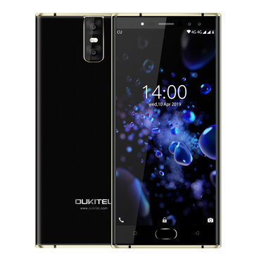 Oukitel K3 Pro Global Version 5.5 inch FHD Android 9.0 6000mAh Face Unlock 4GB RAM 64GB ROM MT6763 Octa Core 2.0GHz 4G Smartphone  Smartphones from Mobile Phones & Accessories on banggood.com