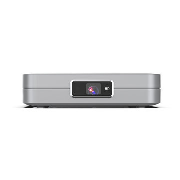 Toumei K1 Pro DLP Projector 3000 Lumens Support 1080P 150 Inch Wifi bluetooth Android 7.1 2G + 32GB with Off-axis Home Theater Projector