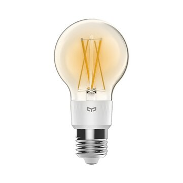 Yeelight YLDP12YL E27 6W 2700K Smart LED Filament Bulb Work With Apple Homekit Google Home AC220V