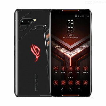 ASUS ROG Phone ZS600KL 6.0 Inch FHD+ IP68 Waterproof NFC 4000mAh 12MP + 8MP Dual Rear Camera 8GB RAM 128GB ROM Snapdragon 845 Octa Core 2.96GHz 4G Gaming SmartphoneSmartphonesfromMobile Phones & Accessorieson banggood.com
