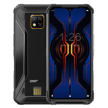 DOOGEE S95 Pro Global Bands IP68 Waterproof 6.3 inch FHD+ NFC Android 9.0 5150mAh 48MP AI Triple Rear Cameras 8GB RAM 128GB ROM Helio P90 Octa Core 4G Smartphone Mobile Phones from Phones & Telecommunications on banggood.com