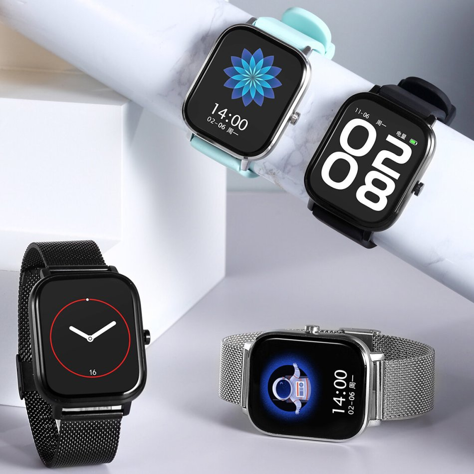 [AI Voice Assistant]DT NO.1 DT35+ 1.75 Inch 320*385px Screen bluetooth Call ECG Heart Rate Blood Pressure SpO2 Monitor Multi-language Support Smart Watch