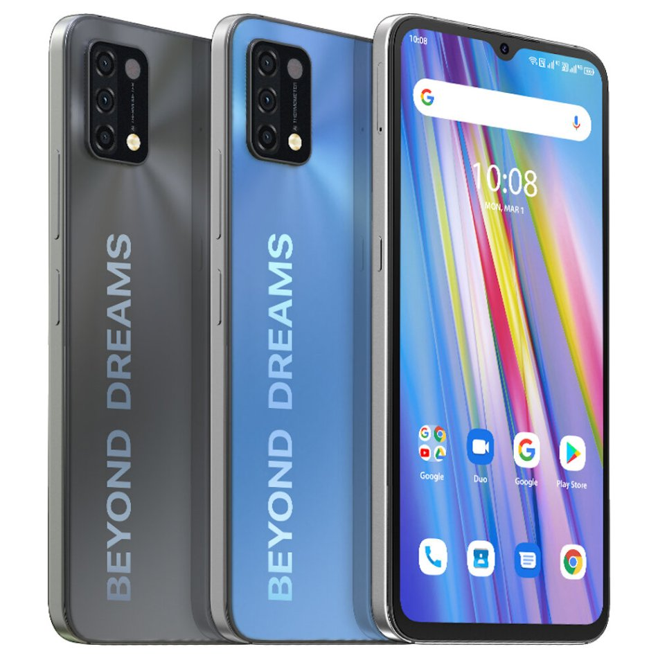 "UMIDIGI A11 Global Version Android 11 Helio G25 5150mAh 3GB 64GB 16MP AI Triple Camera 6.53"" HD+ Smartphone"