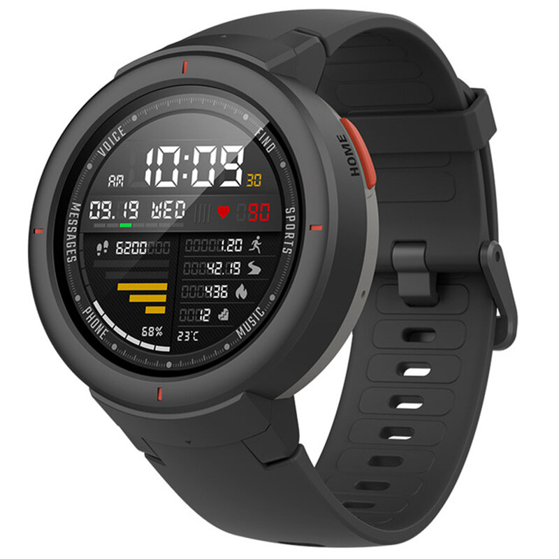 Original Amazfit Verge International Version AMOLED IP68 bluetooth Calling GPS+GLONASS Smart Watch