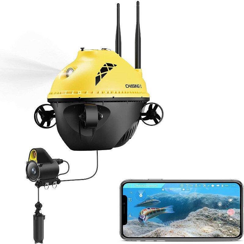 CHASING F1 Fish Finder Drone 28m Working Depth 6 Hours Runtime Wireless Underwater Fishing Camera COD