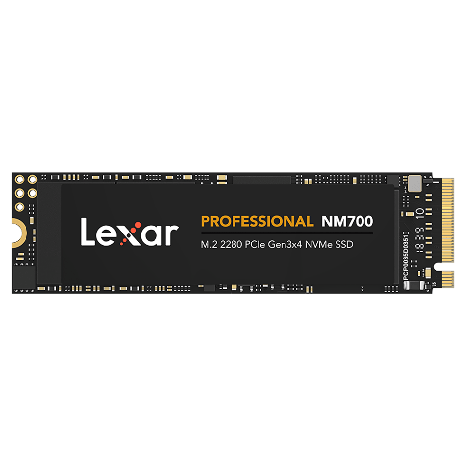 Lexar 1T Professional M.2 2280 NVMe SSD Solid State Drive PCIe Gen3x4 Internal Solid State Disk 3D NAND LDPC 256G 512G NM700