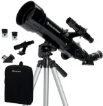 Στα CELESTRON 175X 70mm Astronomical Telescope Space Reflector Scope Refractor with 4mm Eyepiece Storage Bag Tripod