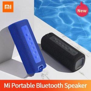 Στα 36.63 € από αποθήκη Κίνας | Original Xiaomi Mi Portable bluetooth Speaker 16W HiFi Bass TWS Wireless Soundbar IPX7 Waterproof Outdoor Speaker