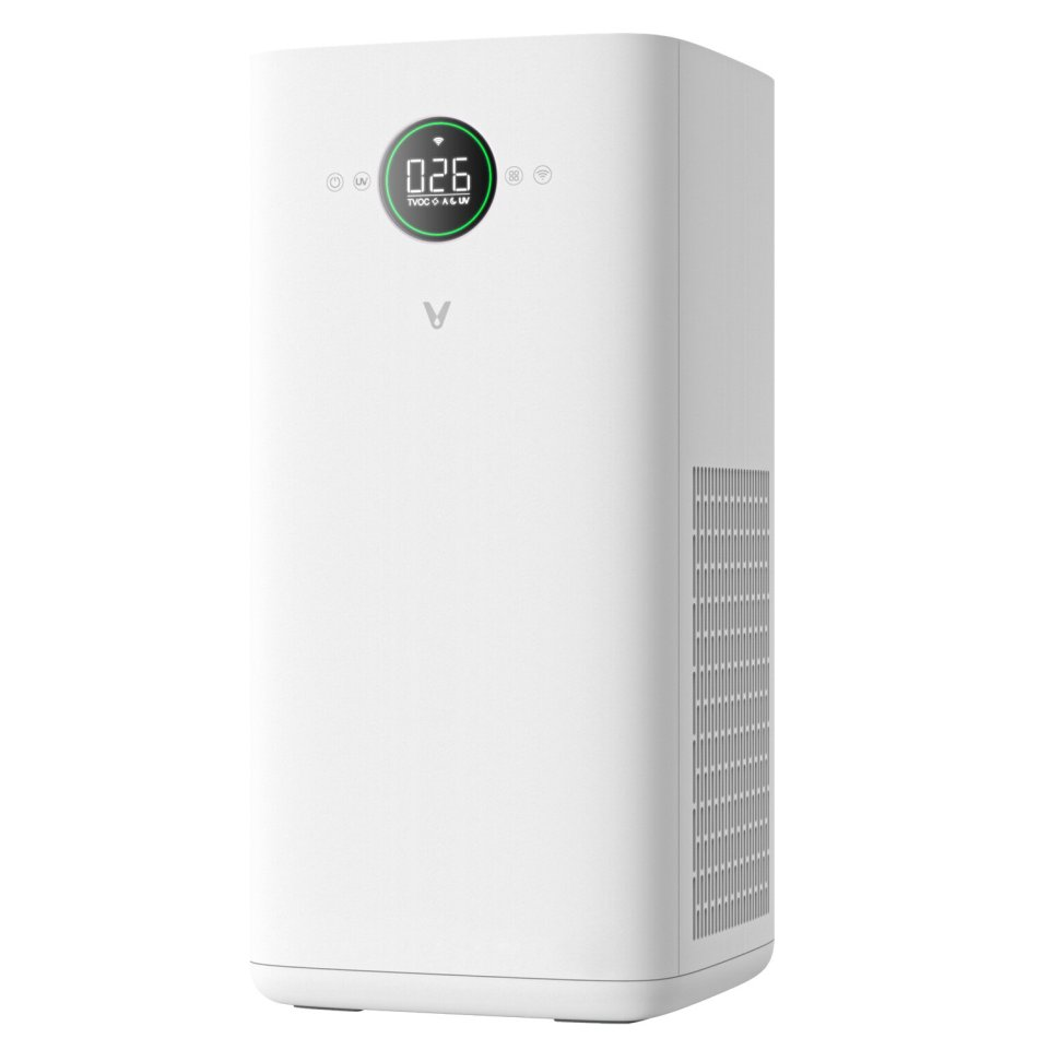 Viomi VXKJ02 Smart Air Purifier UV Sterilization LED Display 500m³/h CADR Particles 200m³/h CADR Methanal APP Control Low Noise