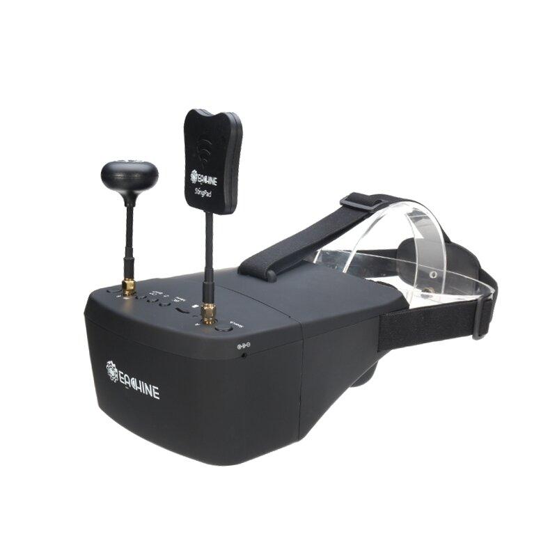 Eachine EV800D 5.8G 40CH Diversity FPV Goggles 5 Inch 800*480 Video Headset HD DVR Build in Battery