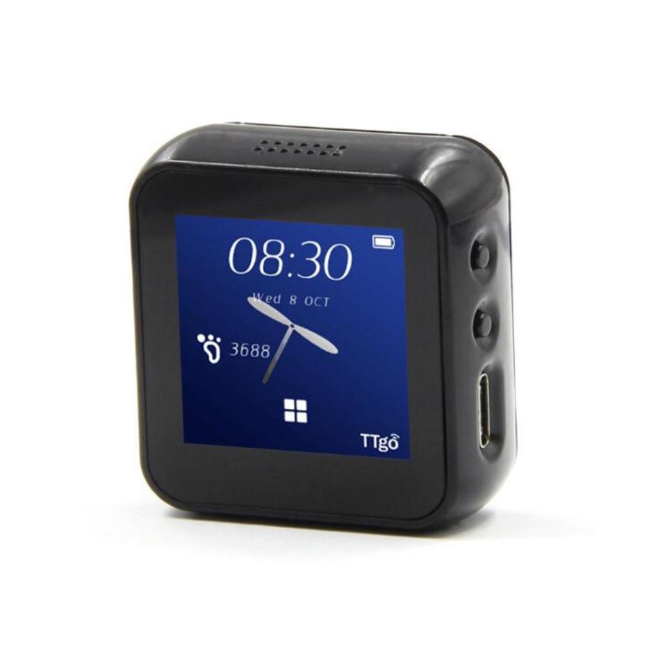 TTGO T-Watch Programmable And Networked Open Source Smart Watch