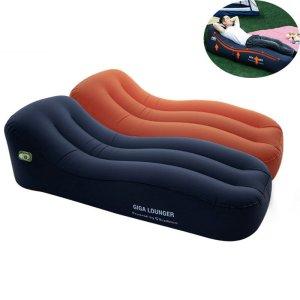 Στα 82€ από αποθήκη Κίνας   Automatic Inflatable Air Mattresses Electric Inflating Lazy Sofa Waterproof TPU Camping Sleeping Bed Max Load 150kg