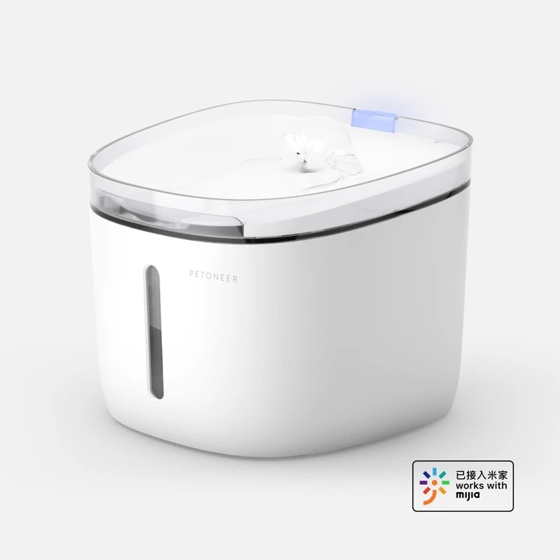 Petoneer FSL020 1.9L Pet Automatic Waterer Water Fountain Dog Cat Mute Drinker Pet Hydration Drinking Dispenser From Xiaomi Youpin