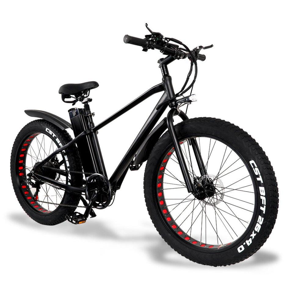 [EU Direct] CMACEWHEEL KS26 48v 20Ah 750W 26in Electric Bike Bicycle 3 Modes 45km/h Speed 80-130KM Mileage Disc Brake E Bike