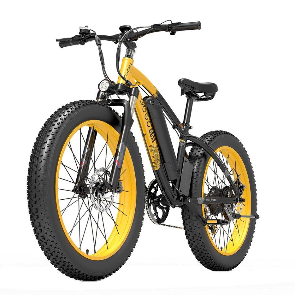 [EU DIRECT] GOGOBEST GF600 13Ah 48V 1000W Folding Moped Electric Bicycle 26inch 40Km/h Top Speed 110km Mileage Range Max Load 200kg
