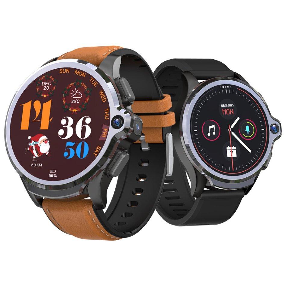 [Face Unlock]Kospet Prime SE 4G-LTE 1G+16G Watch Phone Dual Cameras 1260 mAh Battery Capacity GPS+GLONASS+A-GPS Smart Watch