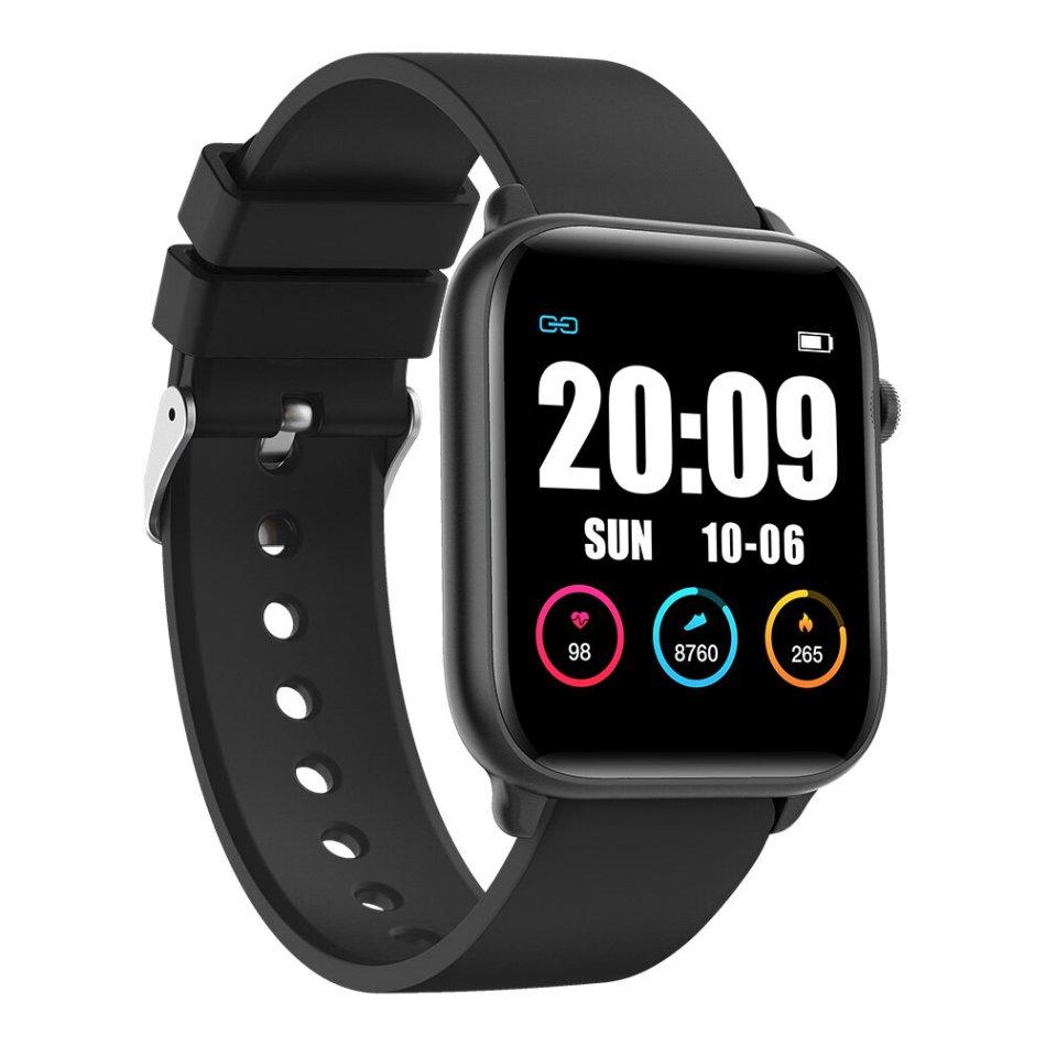 KINGWEAR KW37 Pro Temperature Detection Ultra Thin Wristband Blood Pressure Oxygen Monitor IP68 Smart Watch