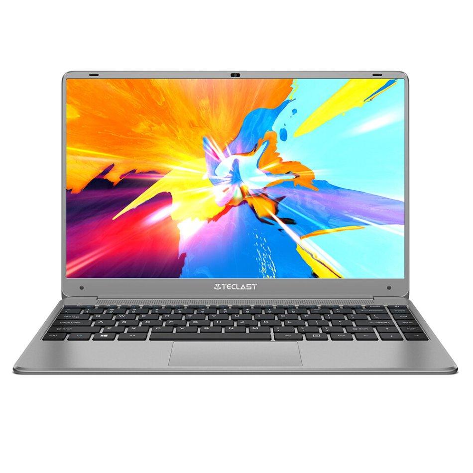 [New Version]Teclast F7 Plus Ⅲ Laptop 14.1 inch Intel N4120 Quad-Core 2.6GHz 8GB LPDDR4 RAM 256GB SSD 46W Large Battery Full Metal Cases Notebook