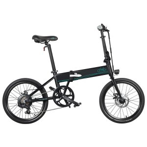 Στα €538.46 από αποθήκη Τσεχίας | EU Direct FIIDO D4s 10.4Ah 36V 250W 20 Inches Folding Moped Bicycle 25km or h Top Speed 80KM Mileage Range Electric Bike