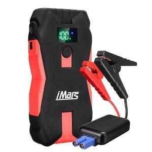 Στα €41 από αποθήκη Πολωνίας τιμή χαμηλότερη ως σήμερα | IMars J02 Portable Car Jump Starter 1300A 16000mAh Powerbank Emergency Battery Booster with LED Flashlight USB Port