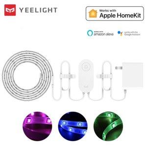 Στα €32.71 από αποθήκη Κίνας | Yeelight YLDD05YL 1S 2M Smart APP RGB LED Strip Light Work with Homekit SmartThings+US Plug(Xiaomi Ecosystem Product)