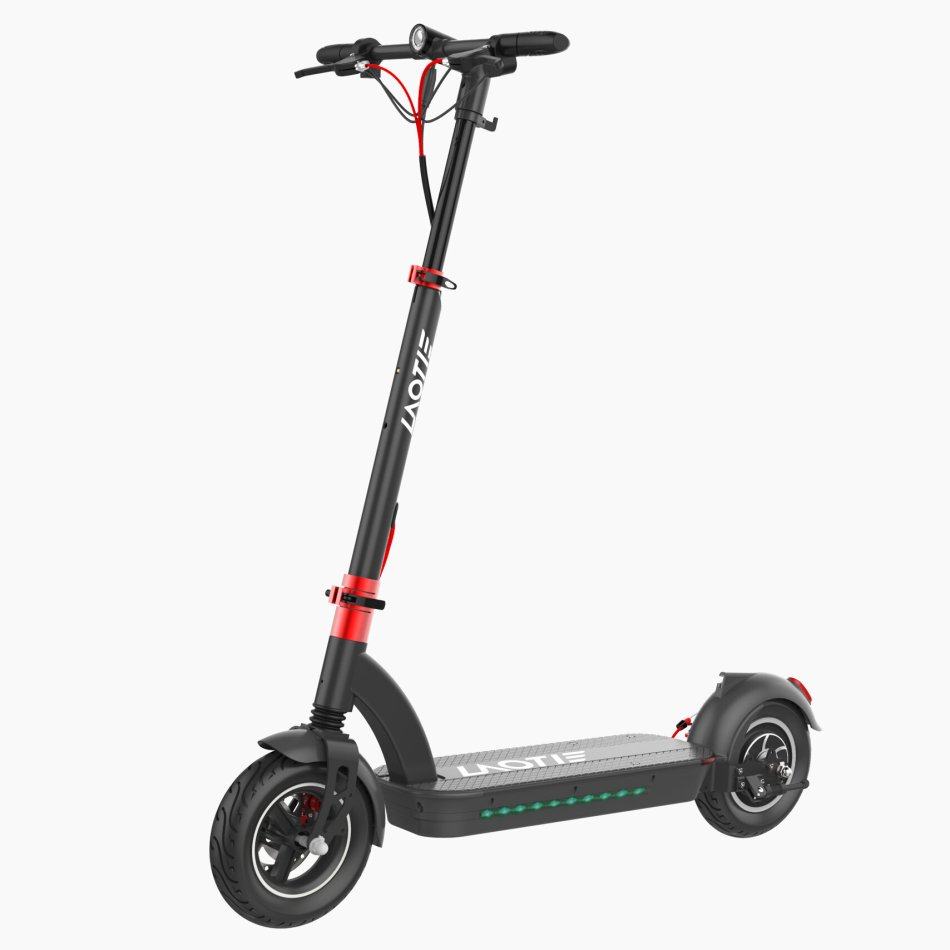 LAOTIE H6 Pro 500W 48V 17.5Ah 10 Inches Folding Electric Scooter 40km/h Top Speed 60-70km Mileage Max Load 120kg Produced With Aerlang