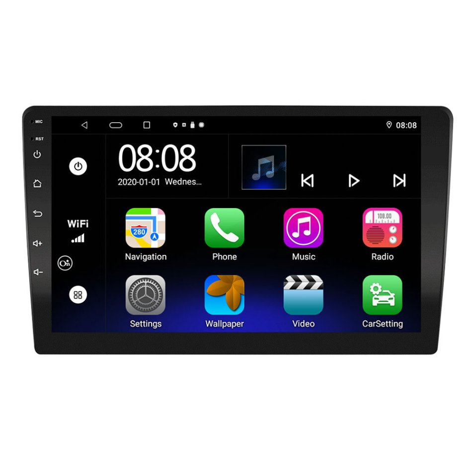 Ezonetronics 9 Inch for Android 10.0 Car Stereo Radio MP5 Player HD Large Touch Screen 8 Core 6+128G GPS DSP AM FM RDS 4G Carplay Android Auto