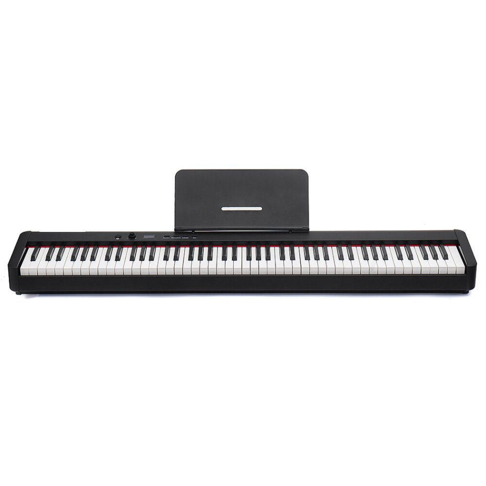 BORA BX5 88 Keys Smart Portable Digital Electronic Piano Heavy Hammer Keyboard With HIFI Independent Sound COD