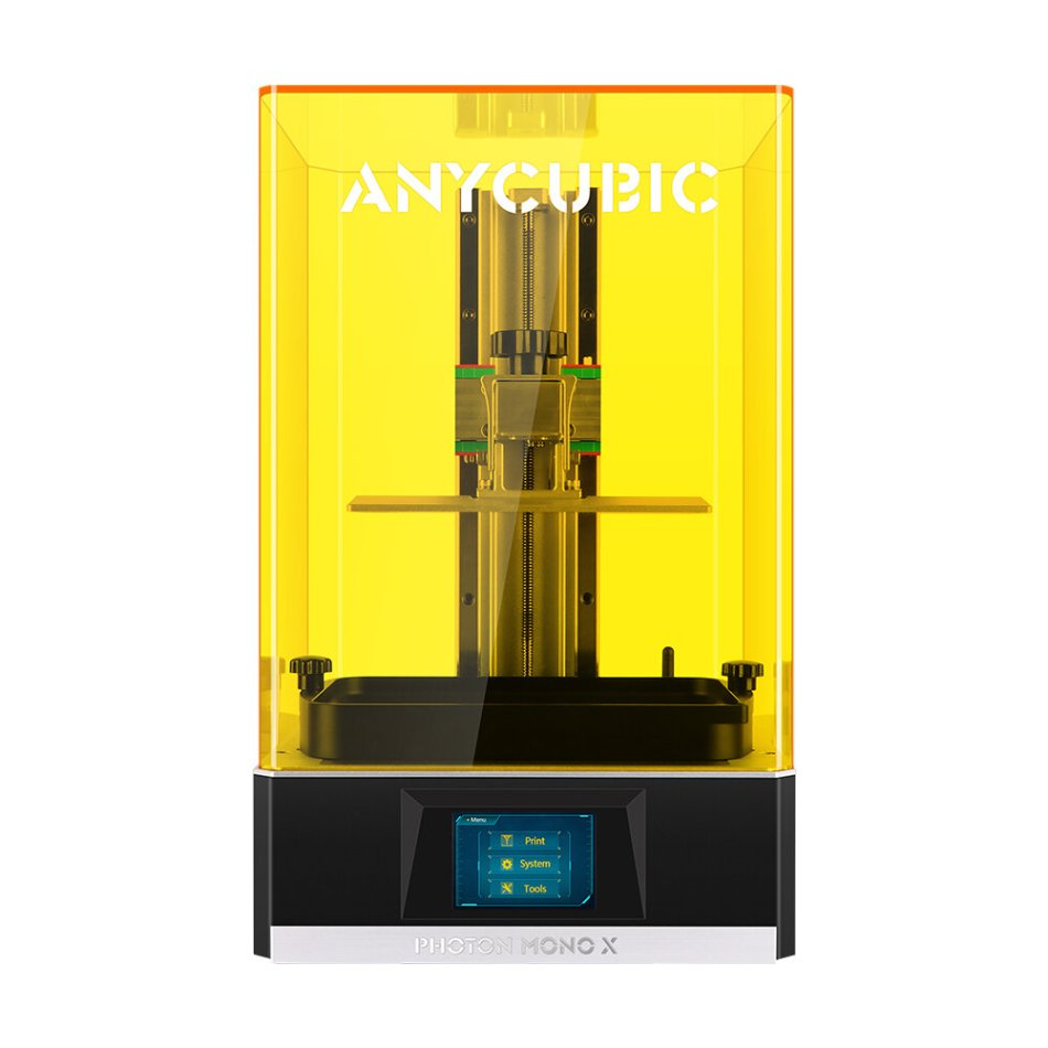 Anycubic® Photon Mono X UV Resin SLA 3D Printer 192x120x245mm Printing Area with 4K LCD / APP Remote Control / Matrix UV Light Source / Upgraded Cooling System / Top Cover Detection