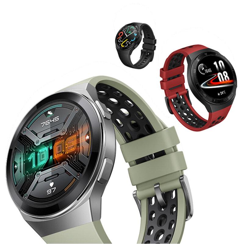 Original HUAWEI WATCH GT 2e 1.39 inch AMOLED Full Touch Screen 100 Sport Modes Heart Rate SPO2 Monitor 14 Days Standby Music Playback GPS+GLONASS bluetooth V5.1 Smart Watch
