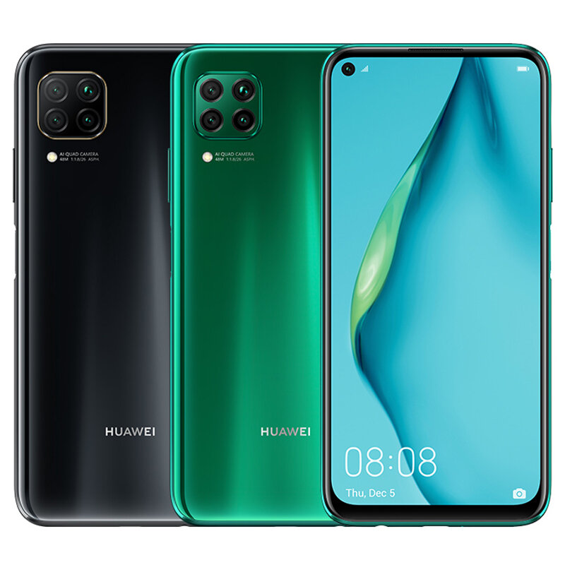 HUAWEI P40 Lite Global Version 6.4 inch 48 MP Quad Camera 6GB RAM 128GB ROM HUAWEI Kirin 810 Octa Core 4G Smartphone