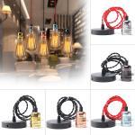 E27 Retro Vintage Ceiling Pendant Light Edison Bulb Adapter Lampholder Hanging Fixture Sale Banggood Com