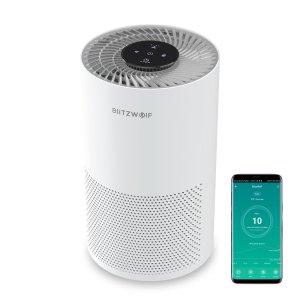 Στα €51.57 από αποθήκη Τσεχίας | BlitzWolf®BW-AP1 Smart Air Purifier 220m³/h CADR 26dB Quiet Air Cleaner,Removes Allergies, Smoke, Dust, Mold, Pollen, Pet Dander, Activated Carbon Eliminat