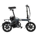 Στα €741.30 από αποθήκη Τσεχίας | [EU DIRECT] FIIDO L3 Flagship Version 48V 350W 23.2Ah Long Distance Electric Bike 14 inch 25km/h Top Speed 130Km Max Mileage Electric Bicycle