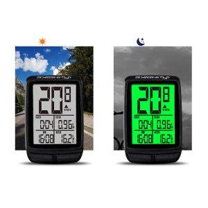 Στα 8.30€ από αποθήκη Κίνας   INBIKE Waterproof Bicycle Computer Wireless MTB Bike Cycling Odometer Stopwatch Speedometer With LED Backlight