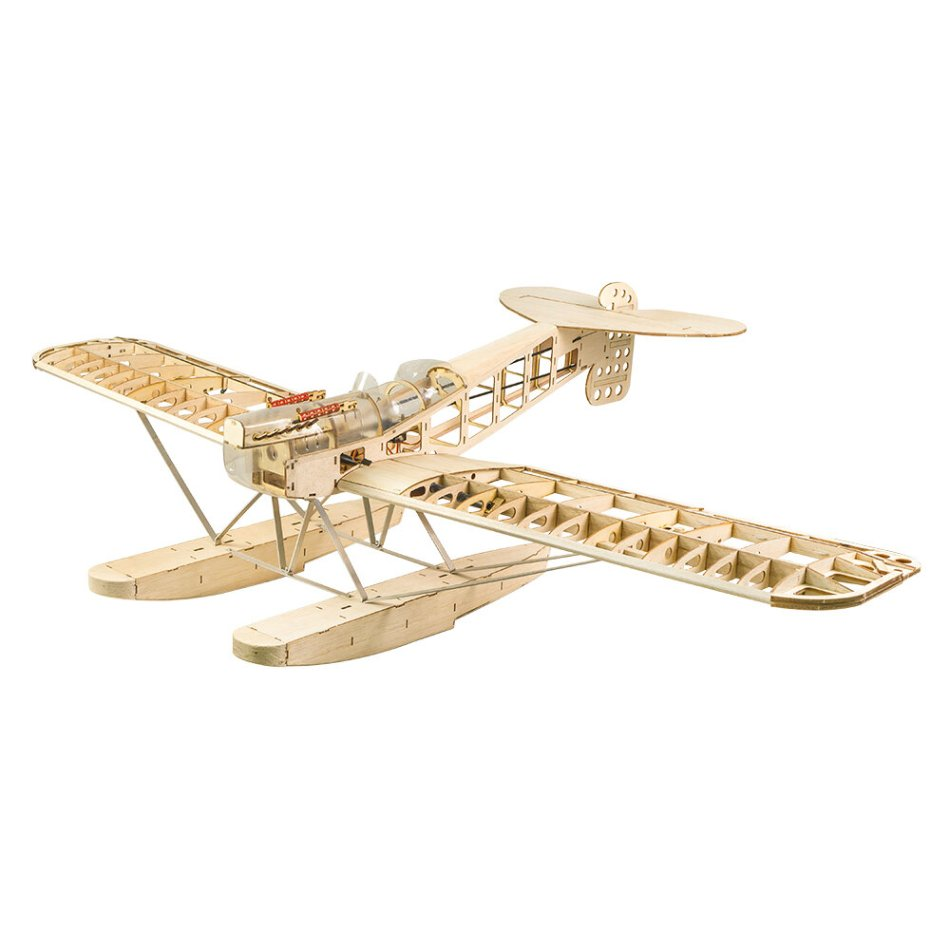 Dacing Wings Hobby New Light Wood Plane 1400MM Wingspan S26 Hansa-Brandenburg W.29 Water Kit/ PNP