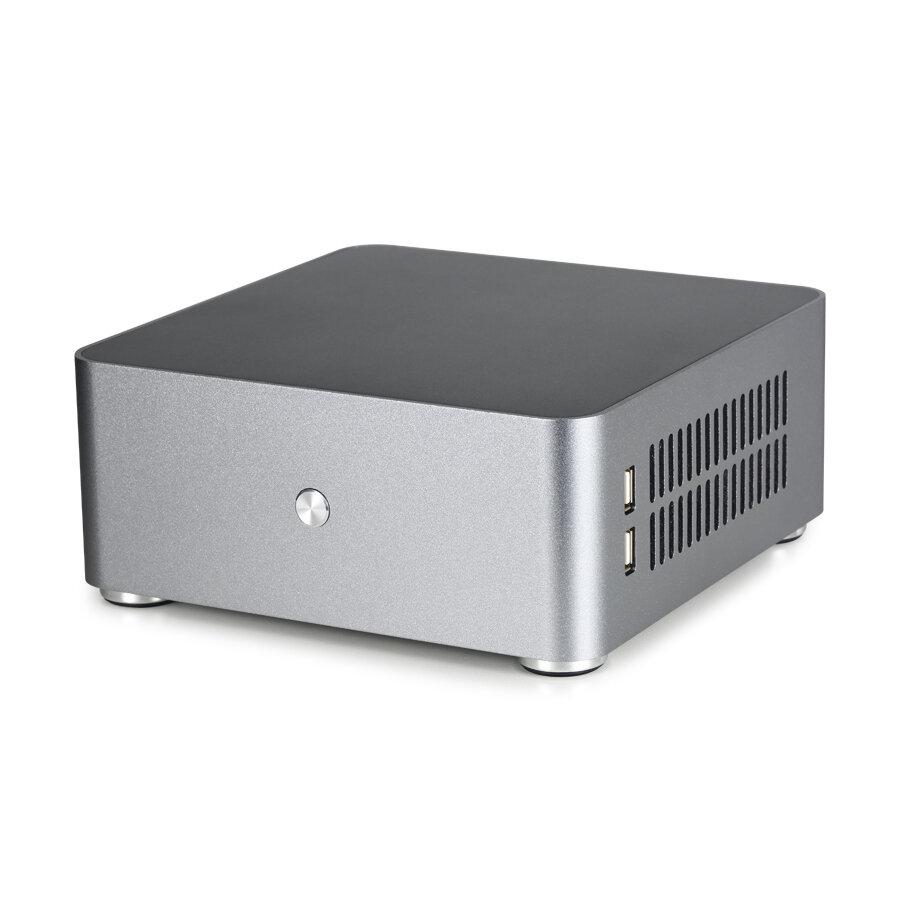 E.mini E-H80S Mini ITX Computer Case Aluminum PC HTPC Case Chassis With Dual USB 3.0