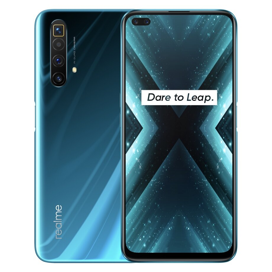 Realme X3 SuperZoom IN Version 6.6 inch FHD+ 120Hz Refresh Rate 64MP Quad Camera 32MP Dual In-display Selfie 12GB 256GB Snapdragon 855 Plus 4G Smartphone